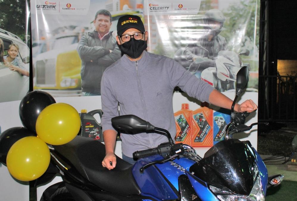 Motorízate con Terpel Ultrek
