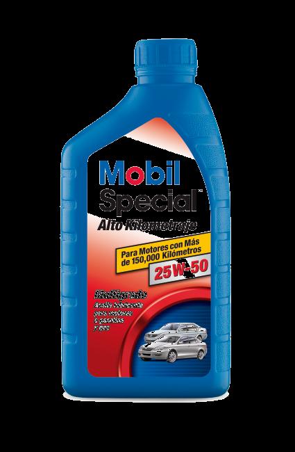 Mobil Special™ Alto Kilometraje 25W-50
